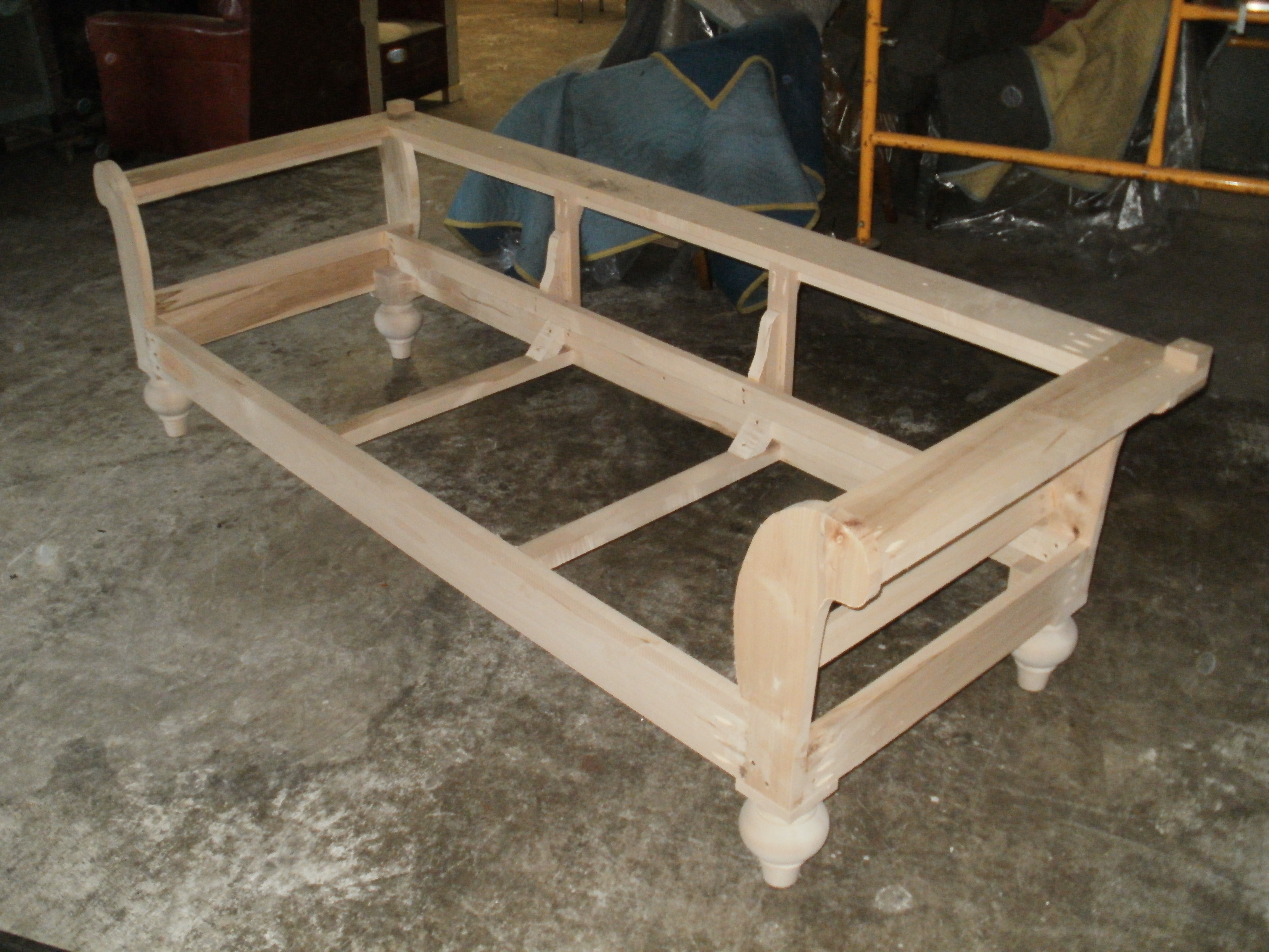 ... sofa project upholstery links sofa frame solid wood construction